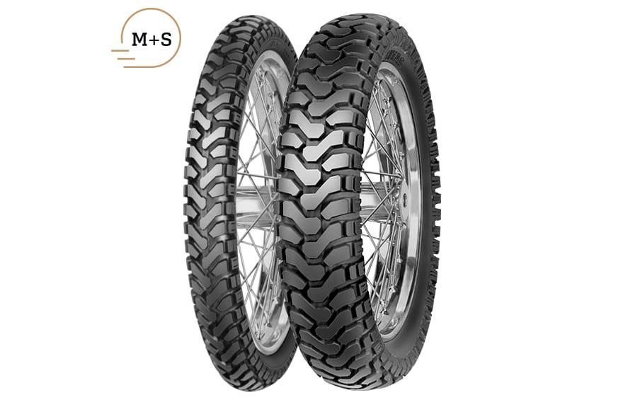 M+S Mitas E-07 150//70-17 69T TL Dakar Dual Sport 50//50